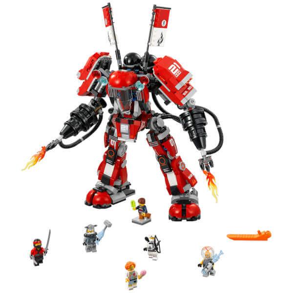 לגו רובוט האש - Ninjago Fire Mech דגם 70615