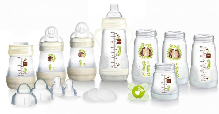 ערכת בקבוקי MAM Easy Start צבע לבן