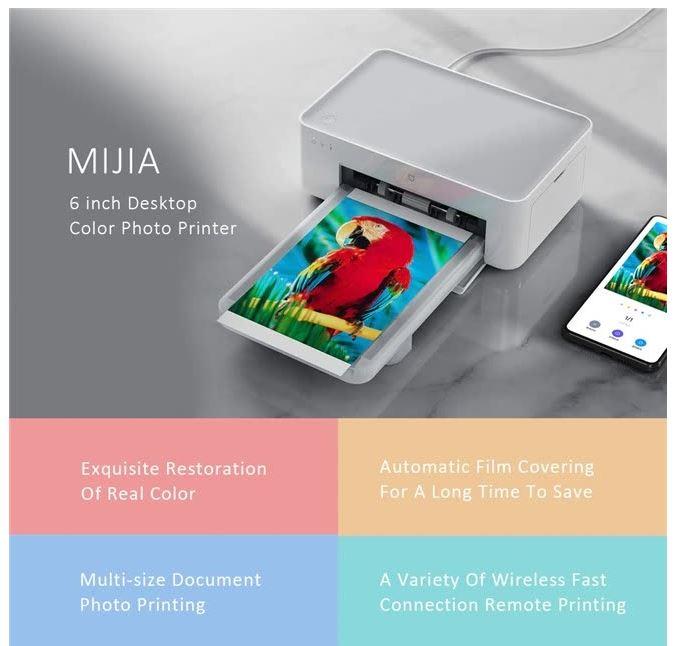 Xiaomi Mijia Mi Photo מדפסת אלחוטית