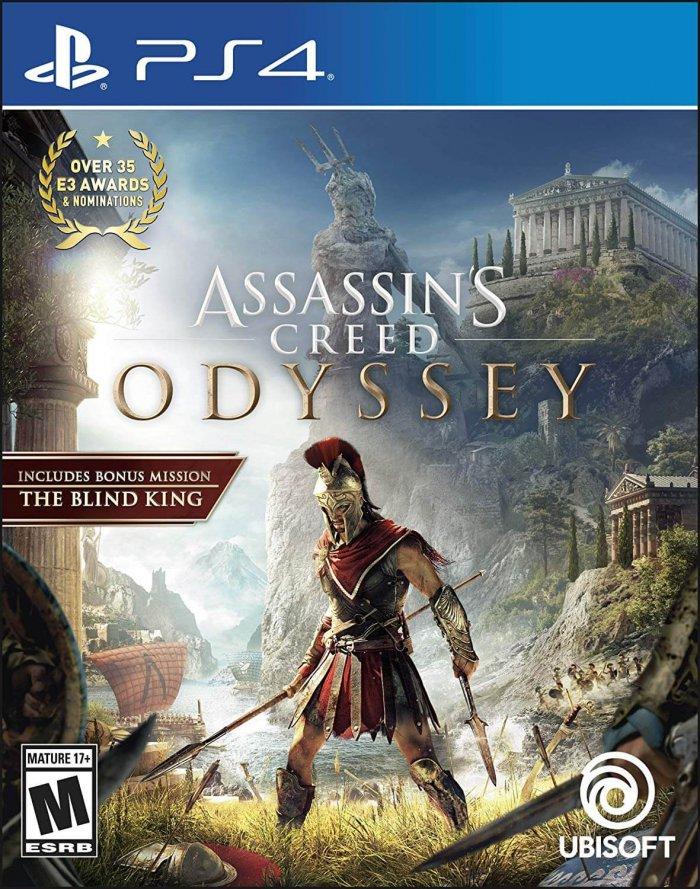 משחק Assassin's Creed Odyssey לפלייסטיישן 4 ולאקסבוקס - דיסק