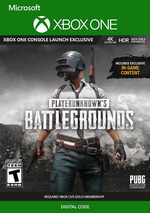משחק PlayerUnknown's Battlegrounds (PUBG) Xbox One קוד דיגיטלי לאקסבוקס