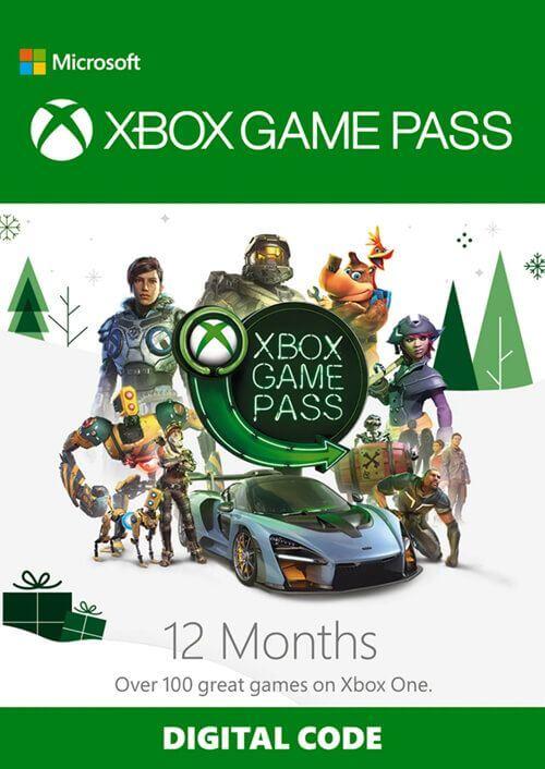 מנוי Xbox Game Pass לשנה