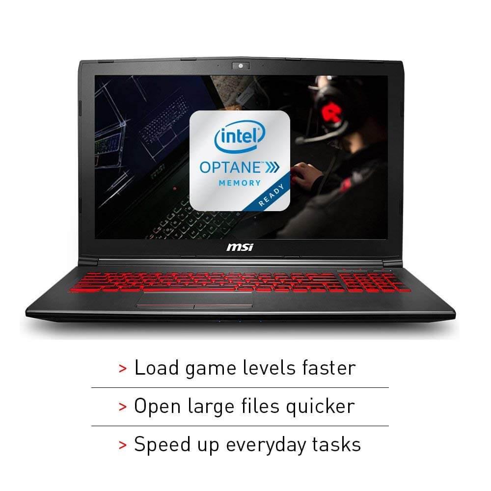 מחשב נייד לגיימרים 15.6 אינץ MSI GV62 8RD-200
