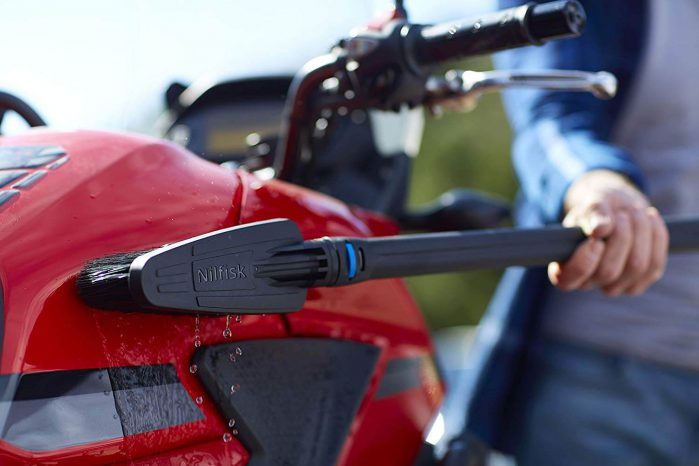 Nilfisk C 120 מכשיר שטיפה בלחץ גבוה כולל ערכה לפטיו ולרכב
