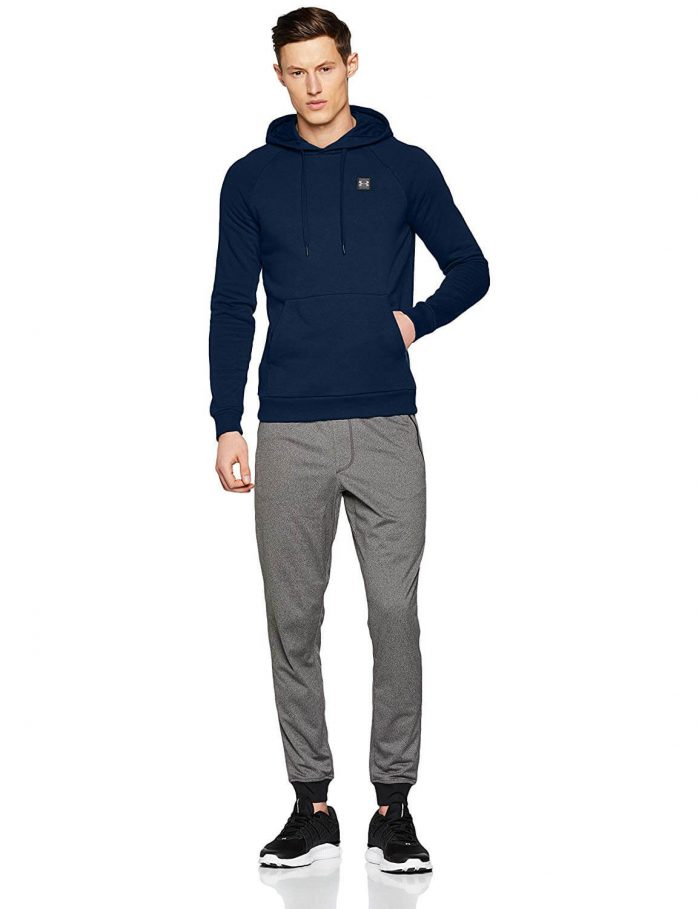 קפוצו'ן Under Armour Men's Rival Fleece Pullover אנדר ארמור לגבר