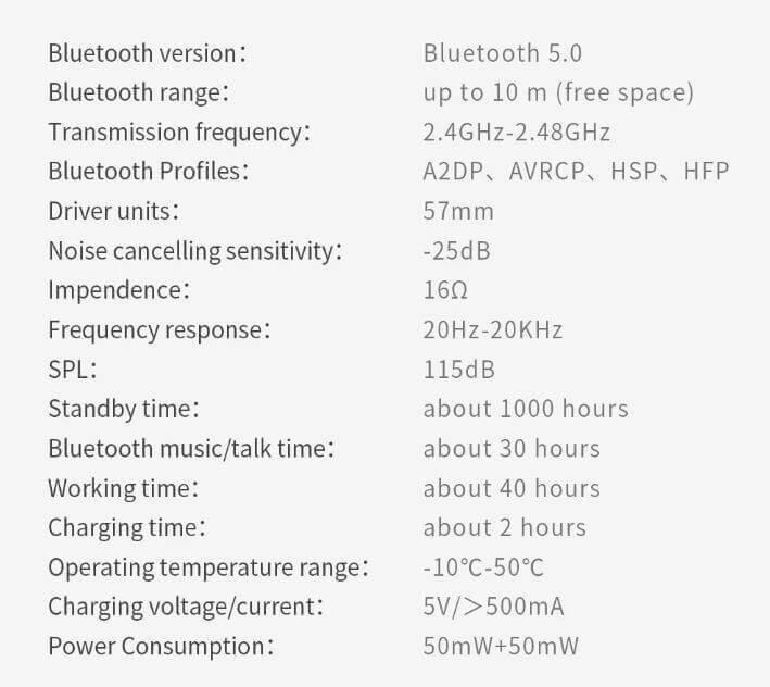 אוזניות בלוטוט' Bluedio T7 עם סינון רעשים אקטיבי