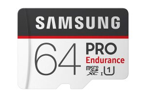 כרטיס זכרון Samsung Pro Endurance בנפח 64GB מומלץ מאוד למצלמות רכב