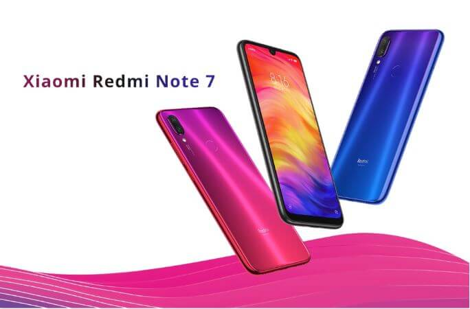 סמארטפון Xiaomi Redmi note 7