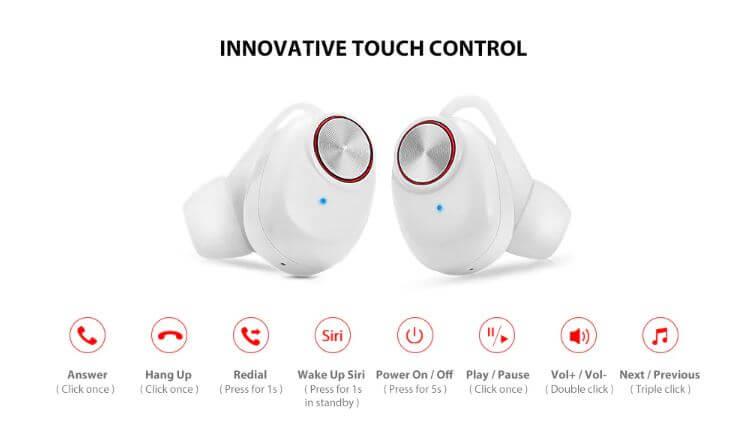 אוזניות Alfawise TWS Wireless Mini Earbuds