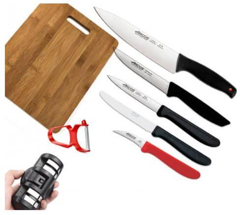 סט סכינים 8 חלקים מבית ARCOS ספרד