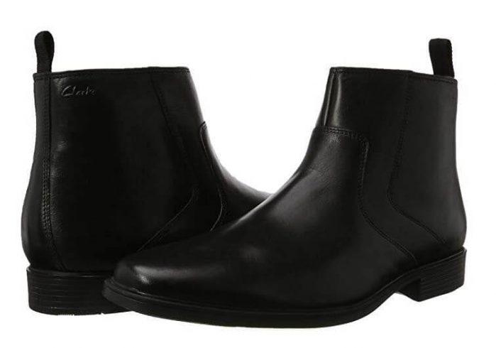 מגפי Clarks Tilden Zip Chelsea Boots קלארקס לגברים
