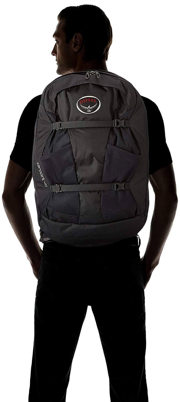 תיק גב Osprey דגם Farpoint בנפח 40 ליטר