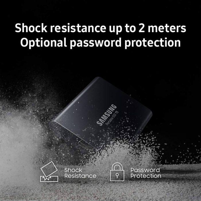 כונן SSD נייד Samsung T5