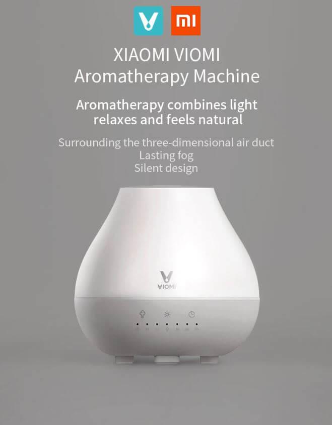 מפיץ ריח מפזר אדים XIAOMI VIOMI כולל תאורה