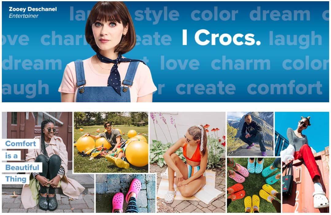 נעלי קרוקס מבחר צבעים לגברים ולנשים