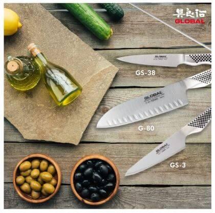 סט סכינים Global g80338 גלובל
