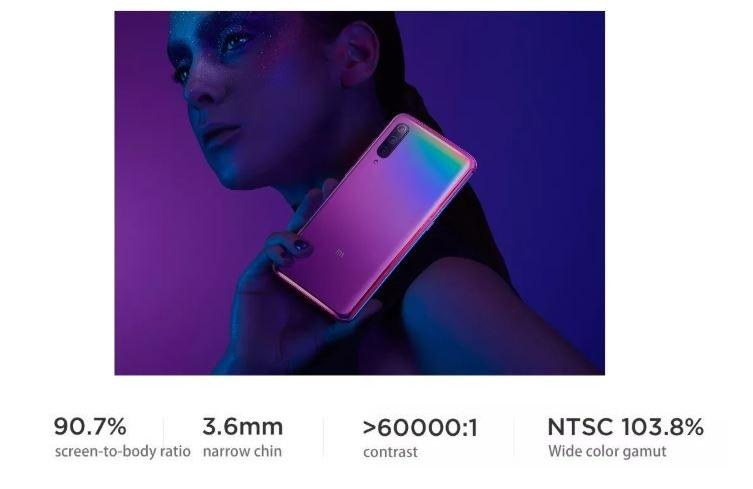 סמארטפון Xiaomi Mi9 דגם 6GB 128GB