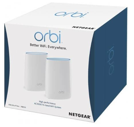 NETGEAR Orbi RBK50 AC3000 Tri-Band Gigabit 3000Mbps