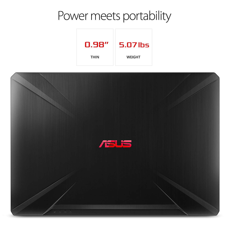 ASUS TUF Gaming Laptop FX504 מחשב נייד גיימינג 15.6 אינץ
