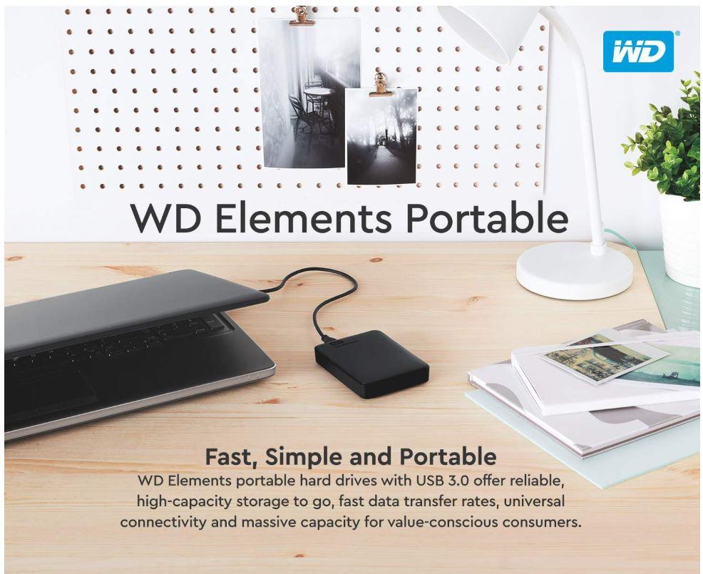כונן חיצוני WD Elements