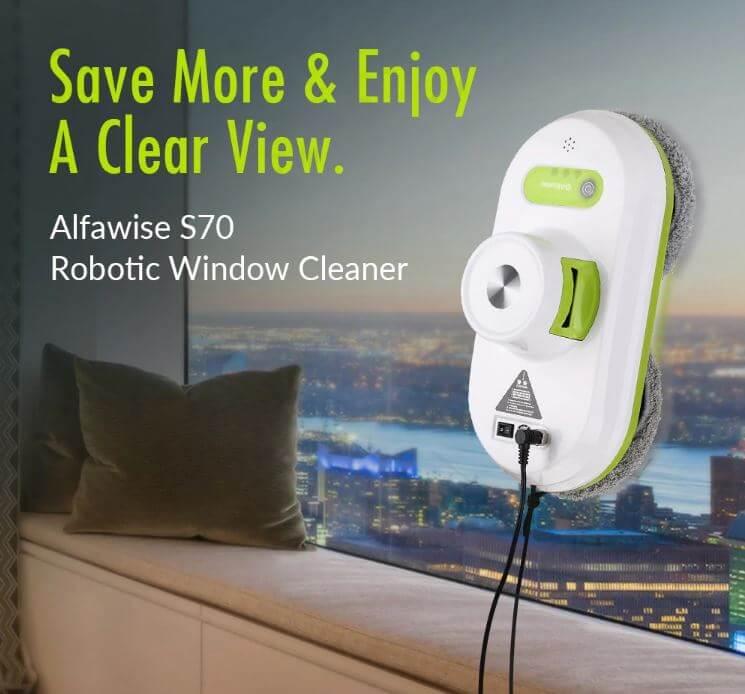 מנקה חלונות רובוטי Alfawise S70