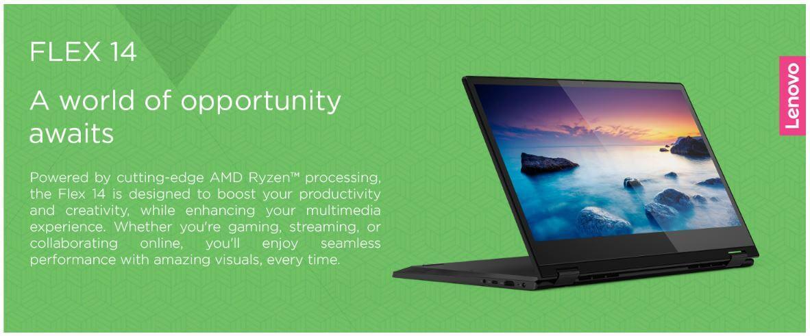 מחשב נייד Lenovo Flex 14