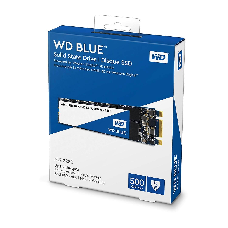 כונן SSD M.2 פנימי WD Blue 500GB 3D NAND