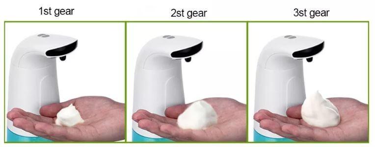 דיספנסר מקציף סבון של שיאומי