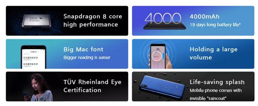 סמארטפון Xiaomi Redmi 7A