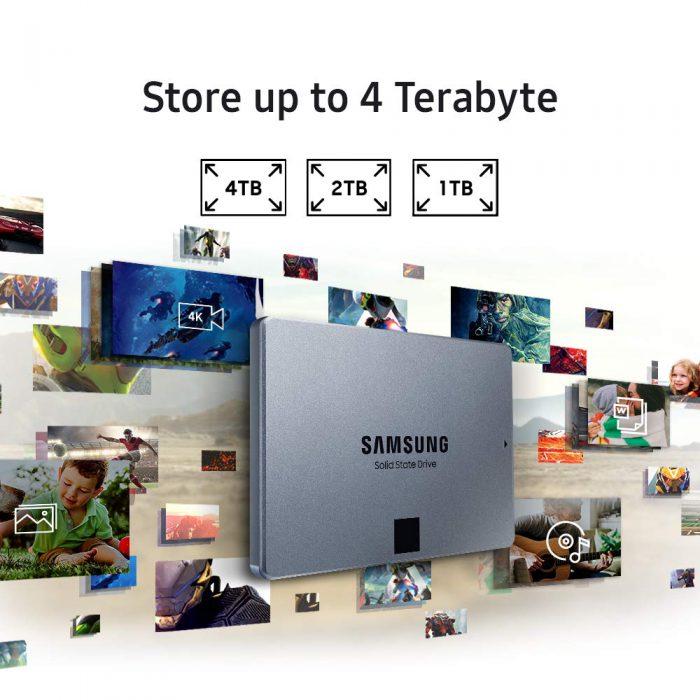 כונן SSD פנימי Samsung 860 QVO