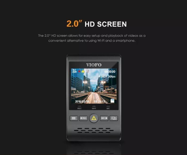 מצלמת רכב VIOFO A129