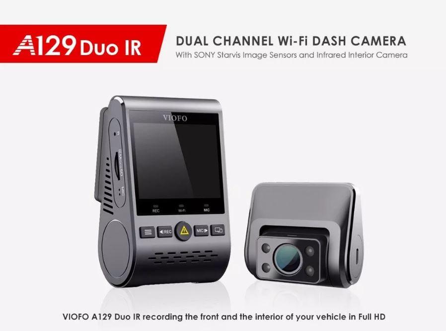 מצלמת רכב VIOFO A129 IR Duo