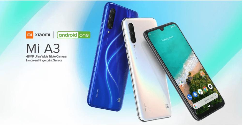 סמארטפון Xiaomi Mi A3