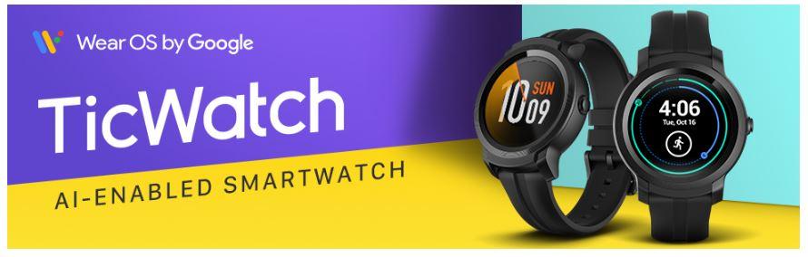 סייל שעונים חכמים של TicWatch