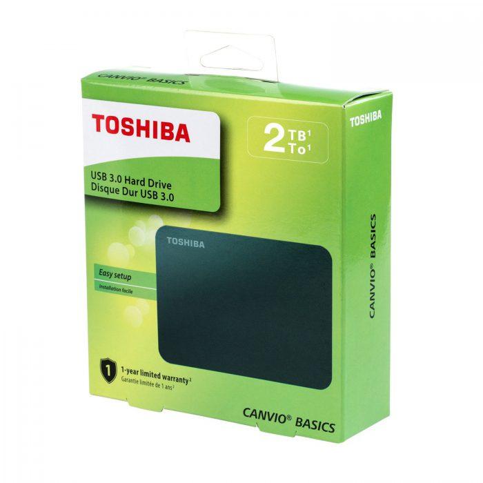 כונן חיצוני נייד Toshiba Canvio Basics