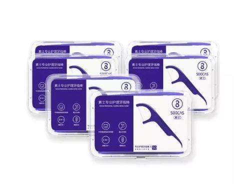 קיסמי שיניים דנטליים SOOCAS (300 יחידות) מבית Xiaomi