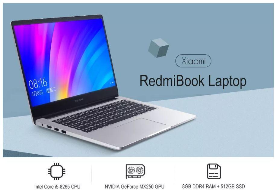 מחשב נייד 14 אינץ Xiaomi RedmiBook