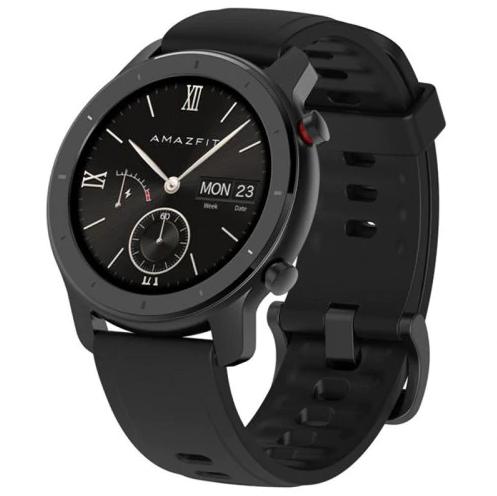 """שעון חכם AMAZFIT GTR מבית שיאומי דגם 42 מ""""מ"""