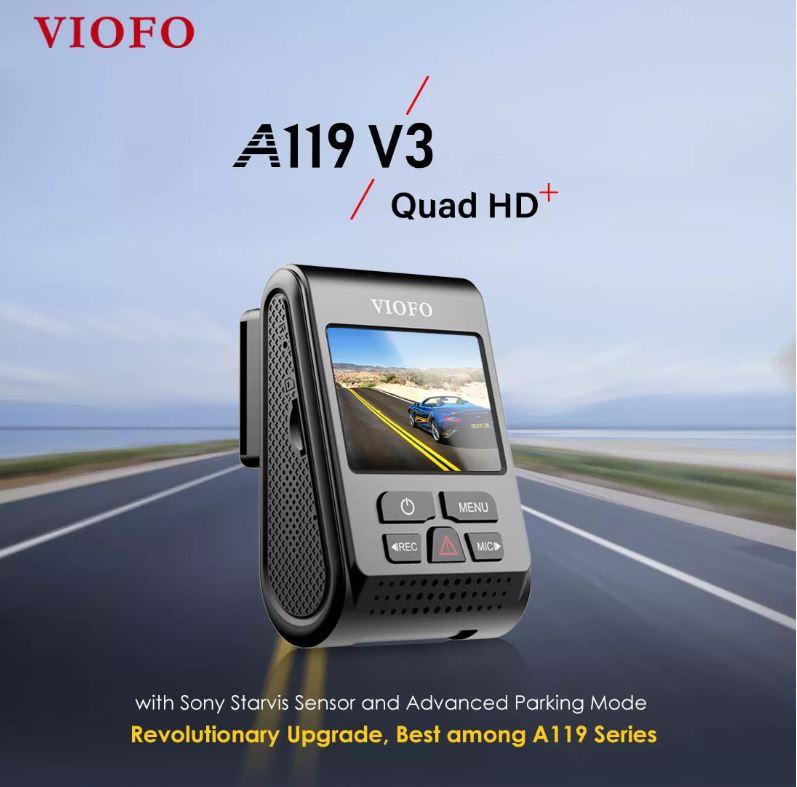 מצלמת רכב VIOFO A119 V3