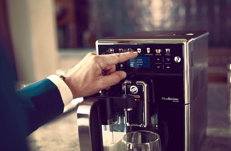 מכונת פולי קפה Saeco PicoBaristo Deluxe