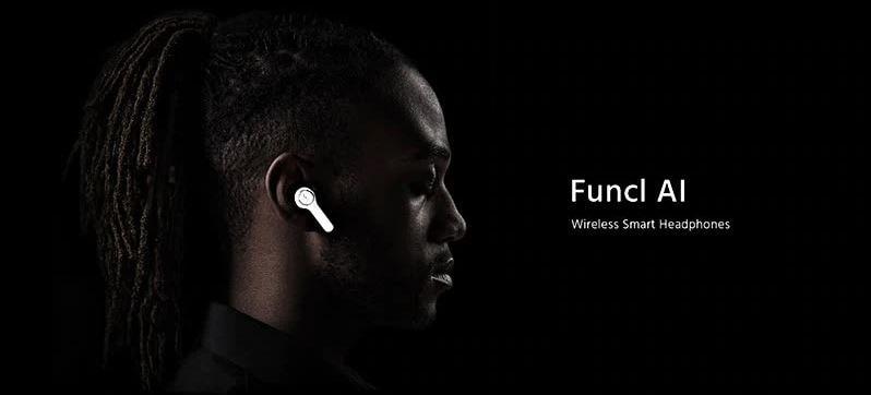 אוזניות אלחוטיות לחלוטין FUNCL