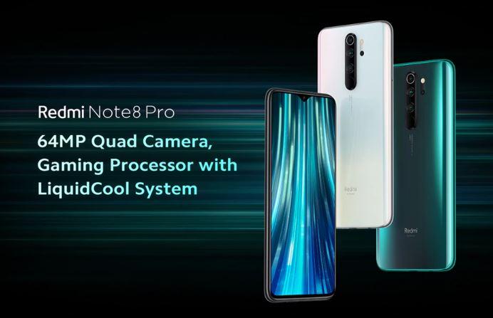 סמארטפון Xiaomi Redmi Note 8