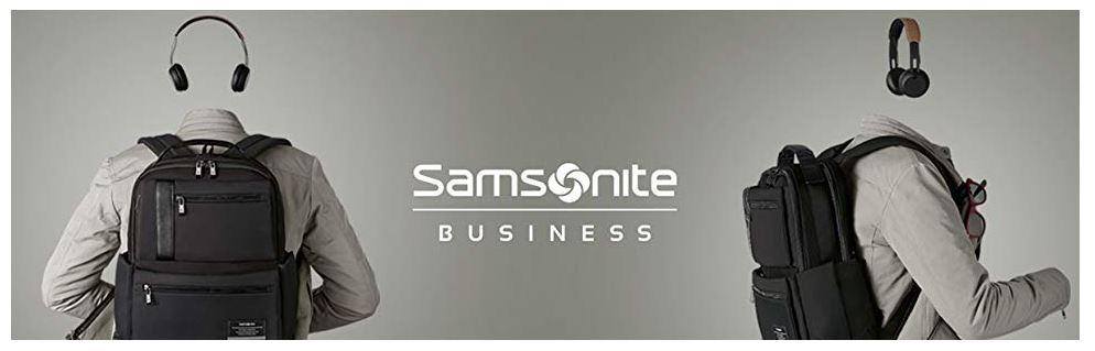 תיק עסקים מעור של סמסונייט