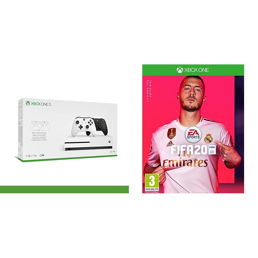 באנדל XBOX S והמשחק FIFA 20
