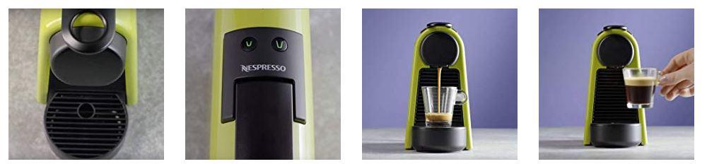 Nespresso Essenza Mini כולל מקציף