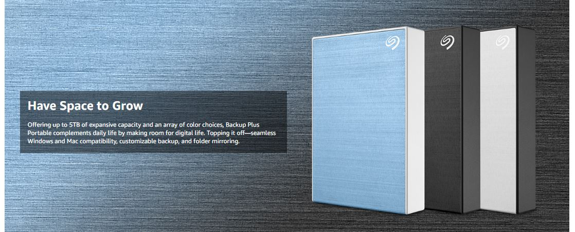כונן חיצוני Seagate Backup Plus