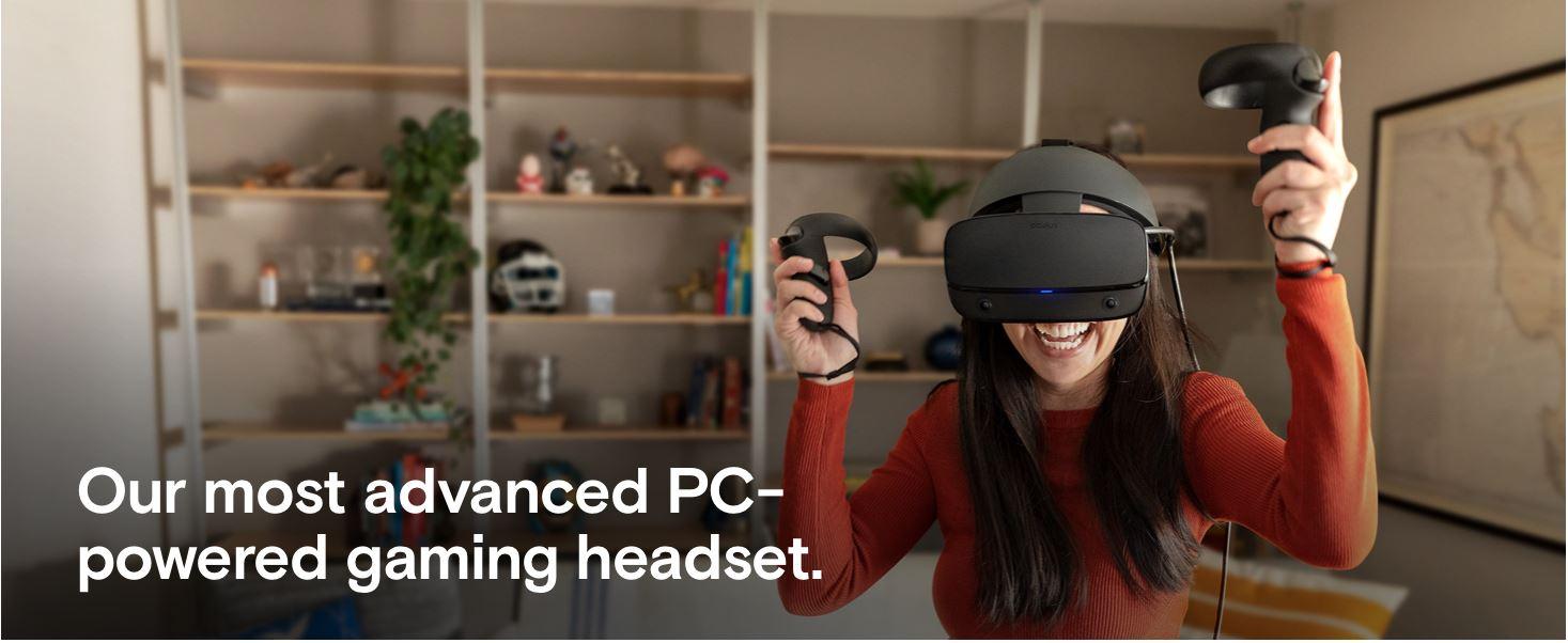 משקפי מציאות מדומה Oculus Rift S