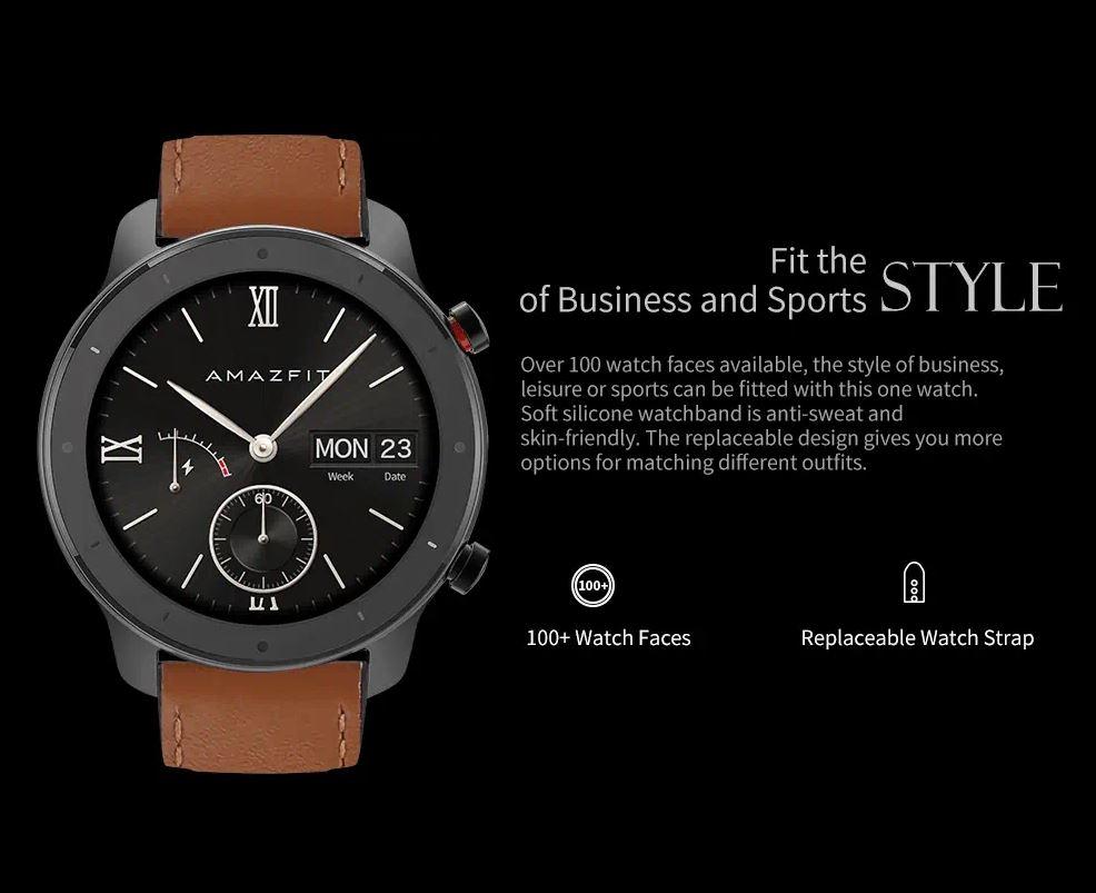 שעון חכם Amazfit GTR Lite