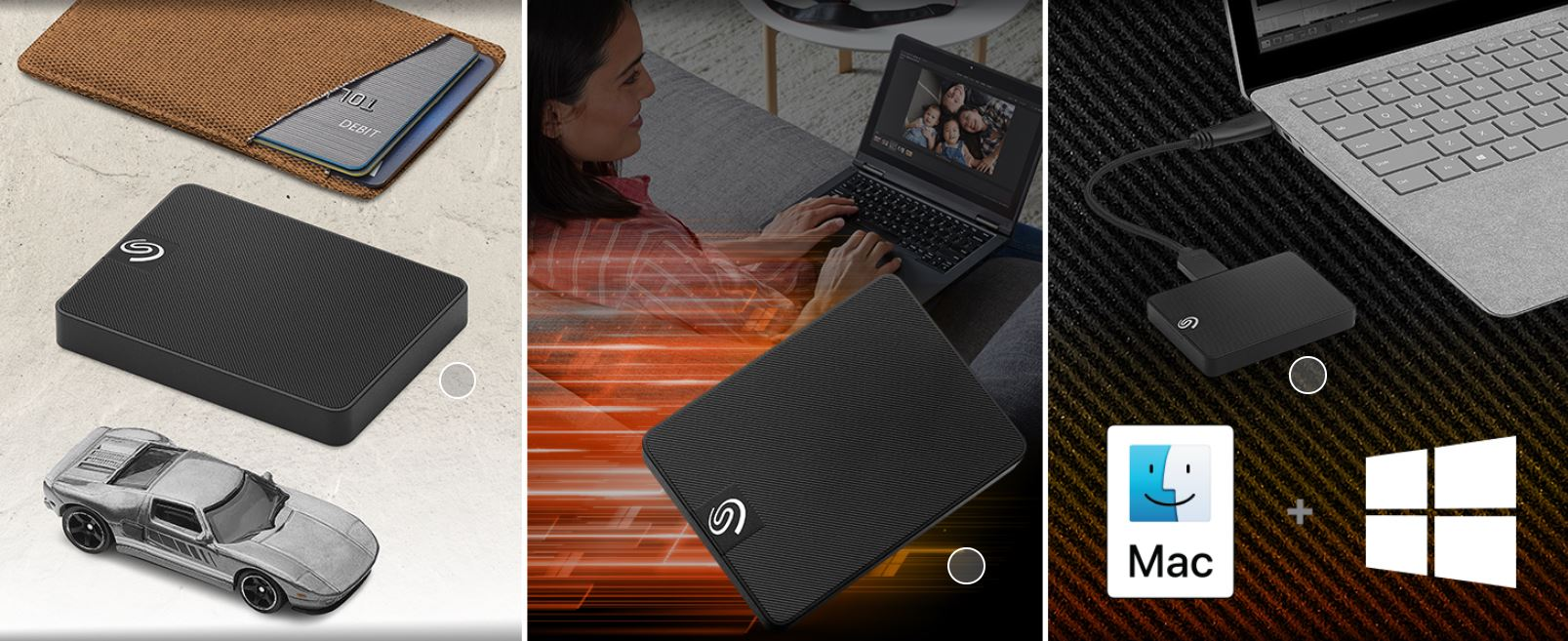 כונן SSD חיצוני Seagate Expansion