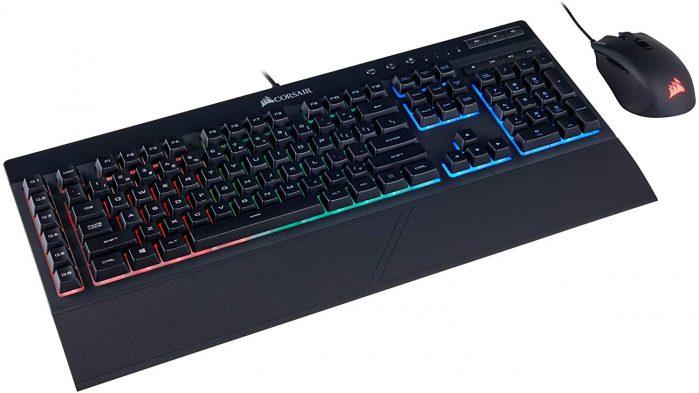 סט עכבר ומקלדת גיימינג Corsair Gaming K55